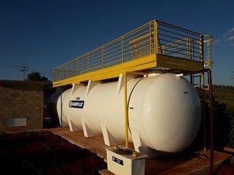 Projeto de tratamento de agua e esgoto