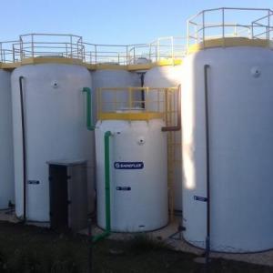 Sistema de tratamento de agua e esgoto